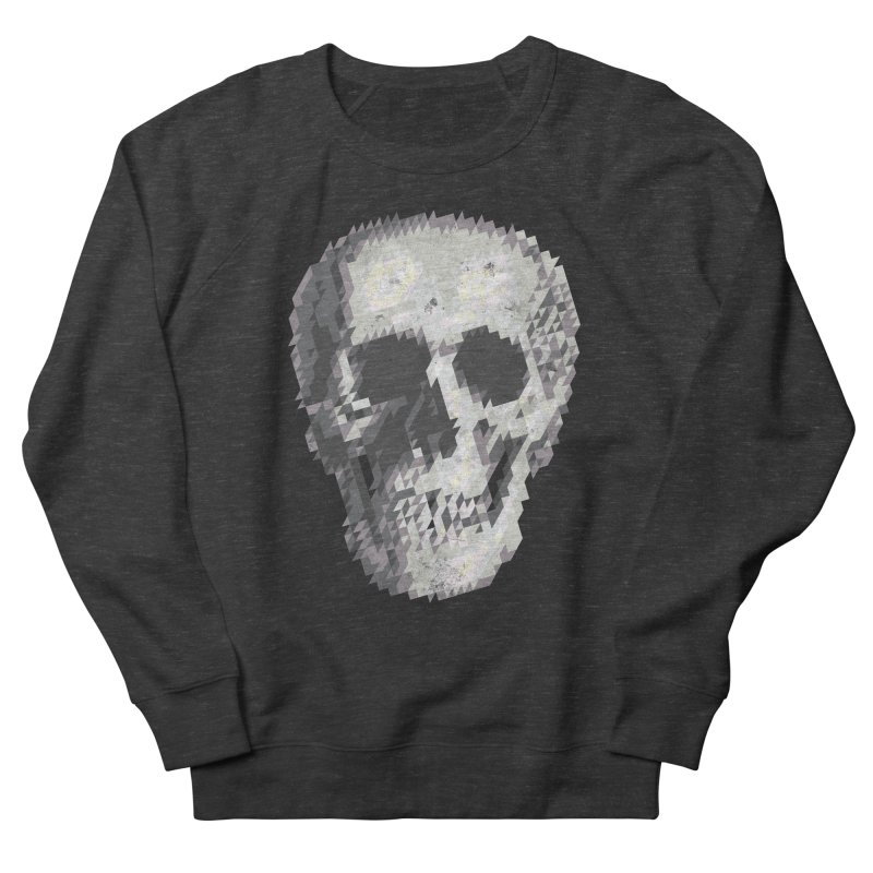 Tri-Skull Men's Sweatshirt by Ross Zietz