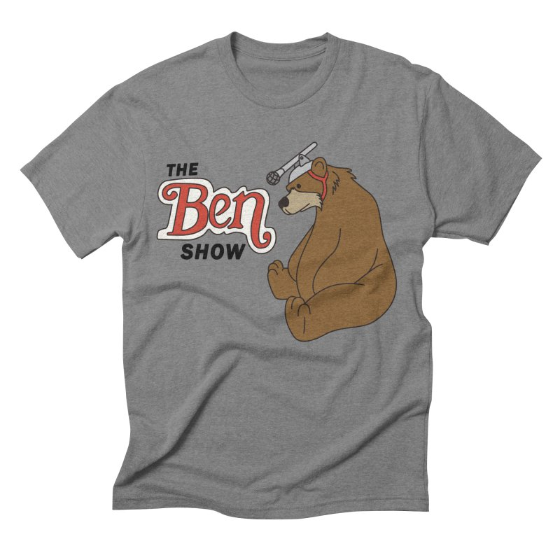Ben Show Staff Shirt Men's Triblend T-shirt by Ross Zietz
