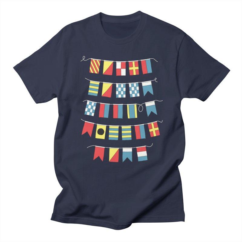 A Bigger Boat Men's T-Shirt by Ross Zietz