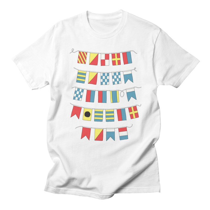 A Bigger Boat Men's T-shirt by Ross Zietz