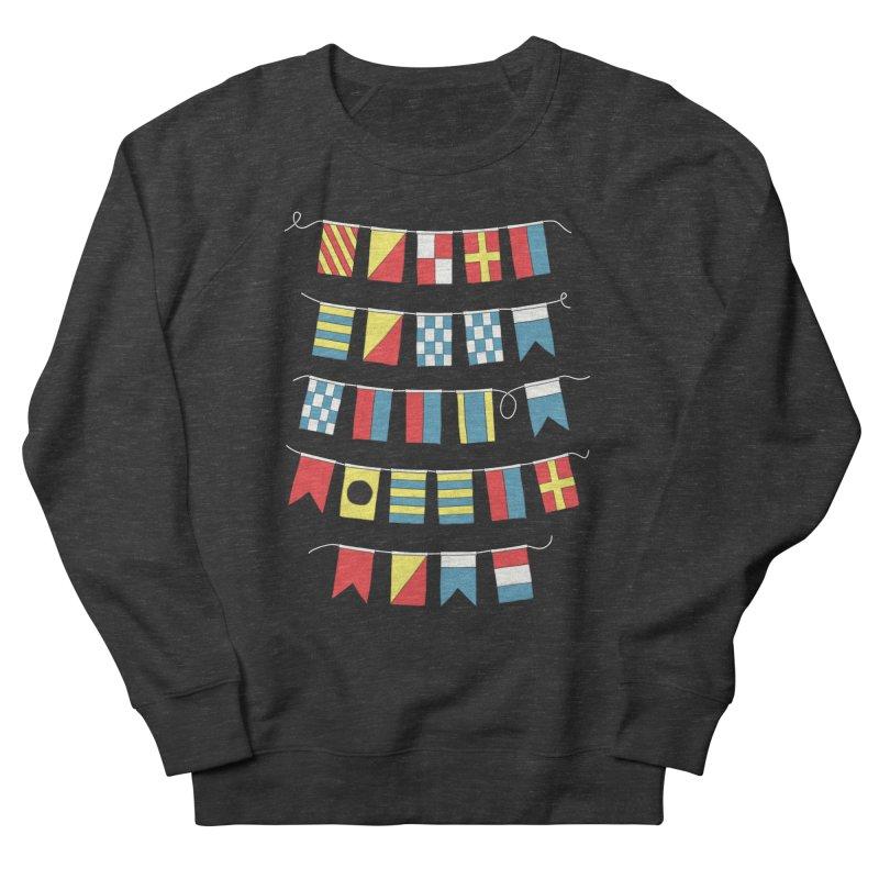 A Bigger Boat Men's Sweatshirt by Ross Zietz
