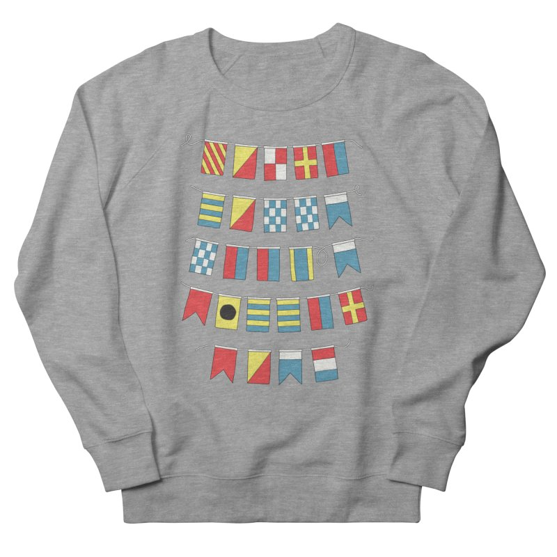 A Bigger Boat Men's Sweatshirt by Ross Zietz
