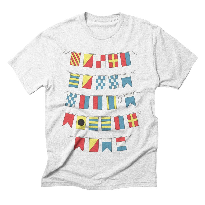 A Bigger Boat Men's Triblend T-shirt by Ross Zietz
