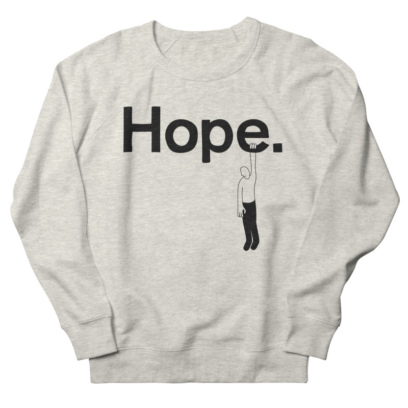Holding On Men's Sweatshirt by Ross Zietz