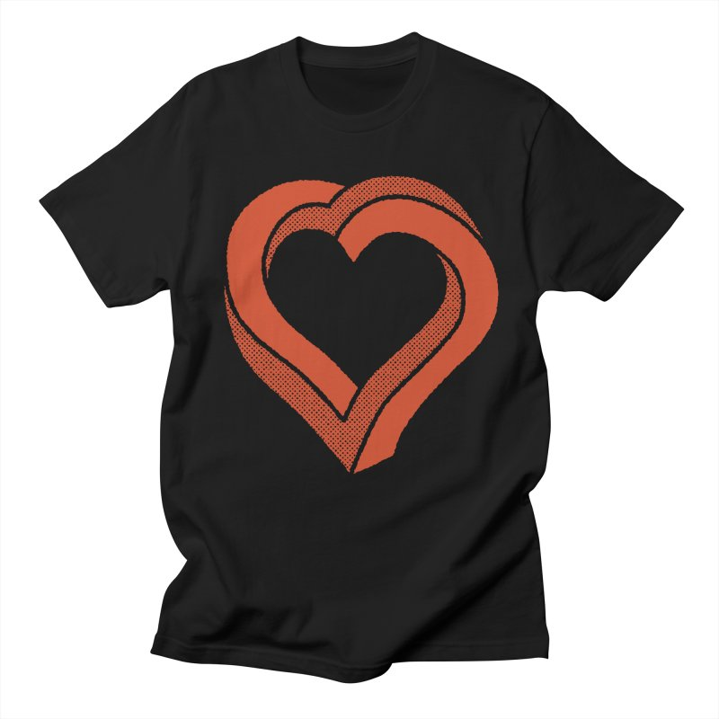 Impossible Love Men's T-shirt by Ross Zietz