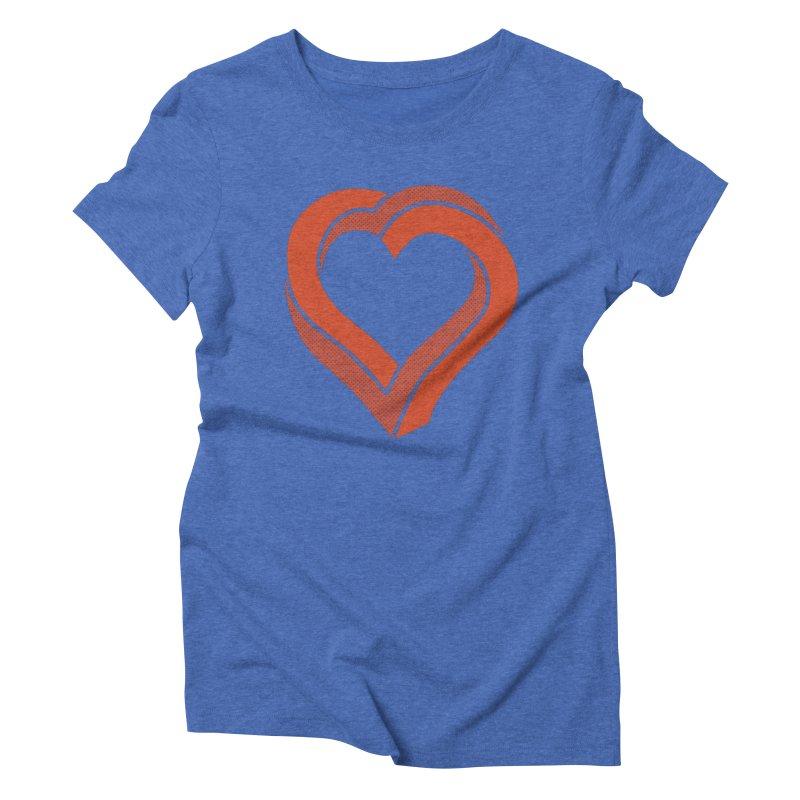 Impossible Love Women's Triblend T-shirt by Ross Zietz