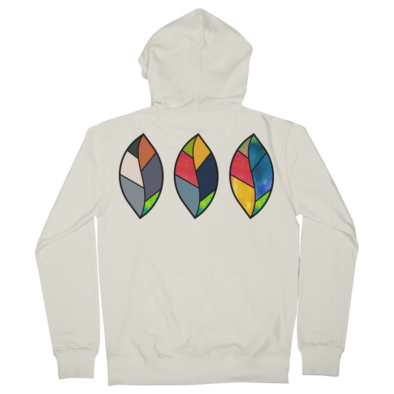 3 Faces of the Fall Women's French Terry Zip-Up Hoody by rouages's Artist Shop