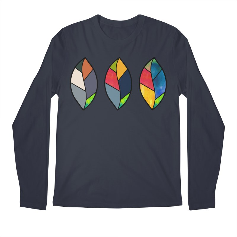 3 Faces of the Fall Men's Regular Longsleeve T-Shirt by rouages's Artist Shop