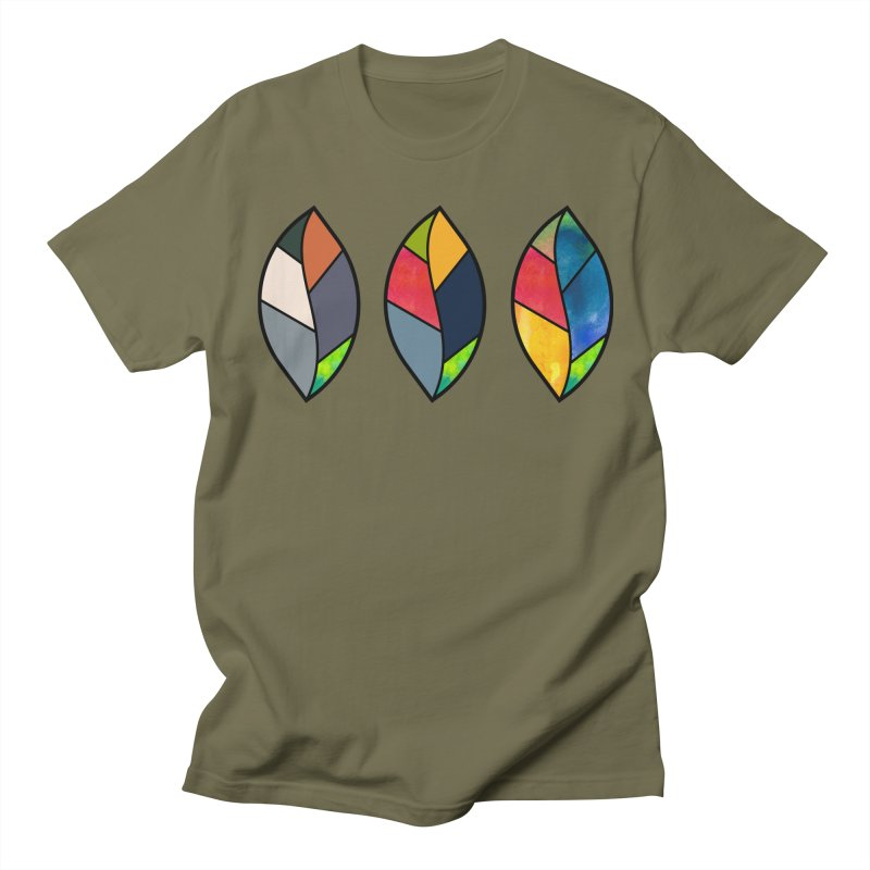 3 Faces of the Fall Men's Regular T-Shirt by rouages's Artist Shop