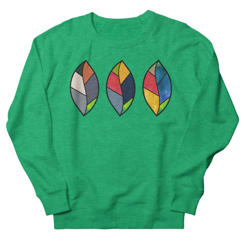 3 Faces of the Fall Women's French Terry Sweatshirt by rouages's Artist Shop