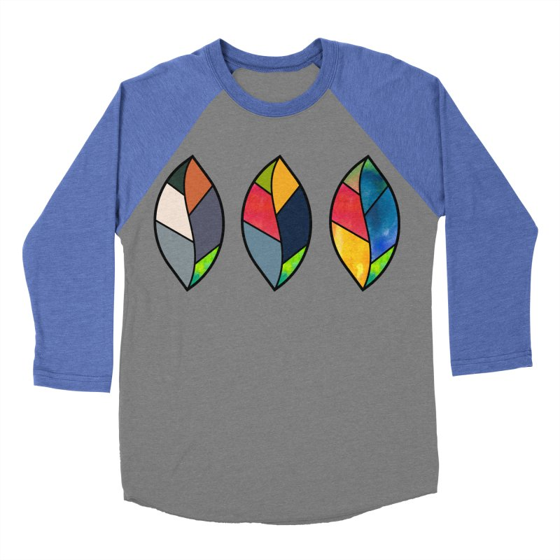 3 Faces of the Fall Men's Baseball Triblend Longsleeve T-Shirt by rouages's Artist Shop