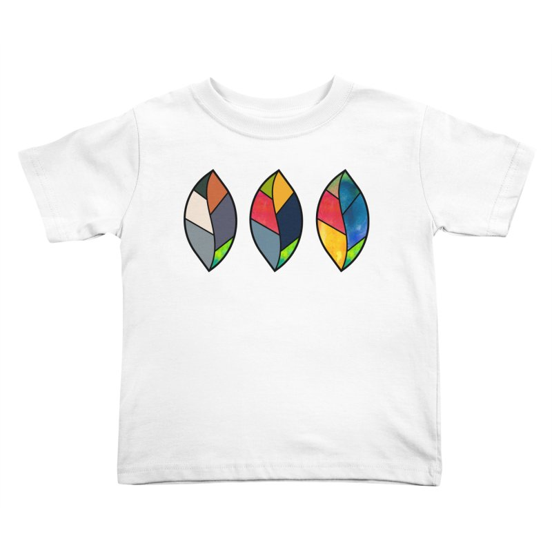 3 Faces of the Fall Kids Toddler T-Shirt by rouages's Artist Shop