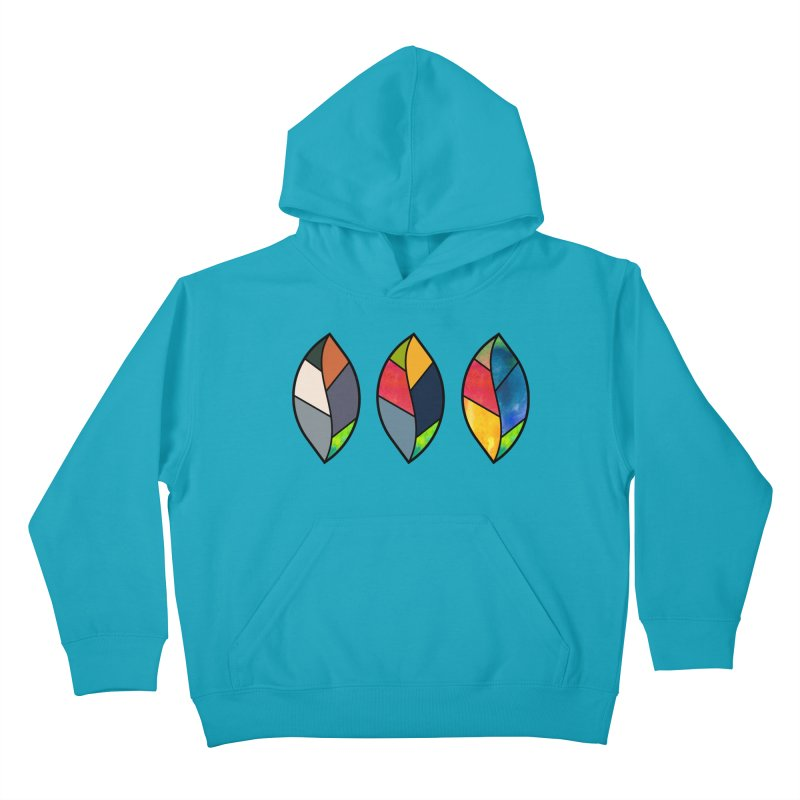 3 Faces of the Fall Kids Pullover Hoody by rouages's Artist Shop
