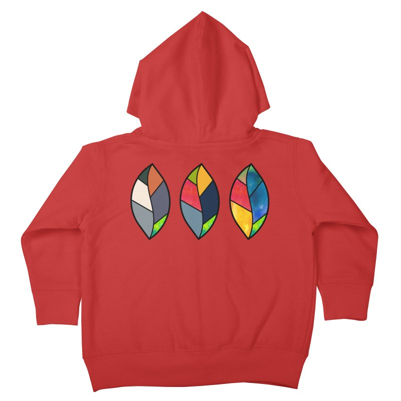 3 Faces of the Fall Kids Toddler Zip-Up Hoody by rouages's Artist Shop