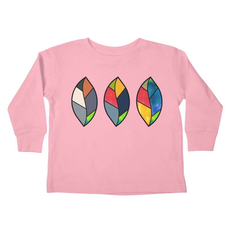 3 Faces of the Fall Kids Toddler Longsleeve T-Shirt by rouages's Artist Shop