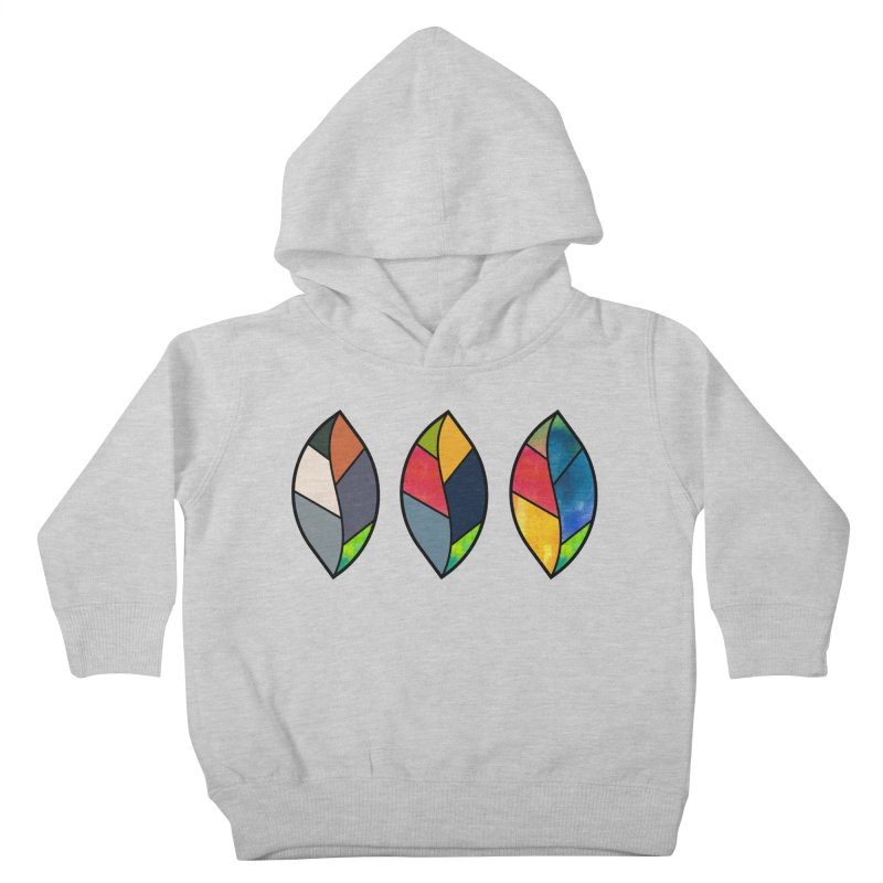 3 Faces of the Fall Kids Toddler Pullover Hoody by rouages's Artist Shop