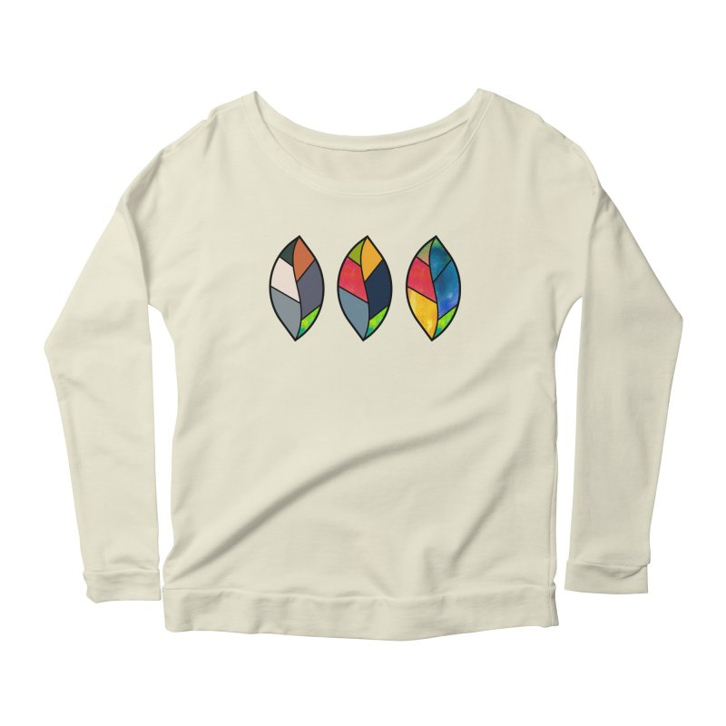 3 Faces of the Fall Women's Scoop Neck Longsleeve T-Shirt by rouages's Artist Shop