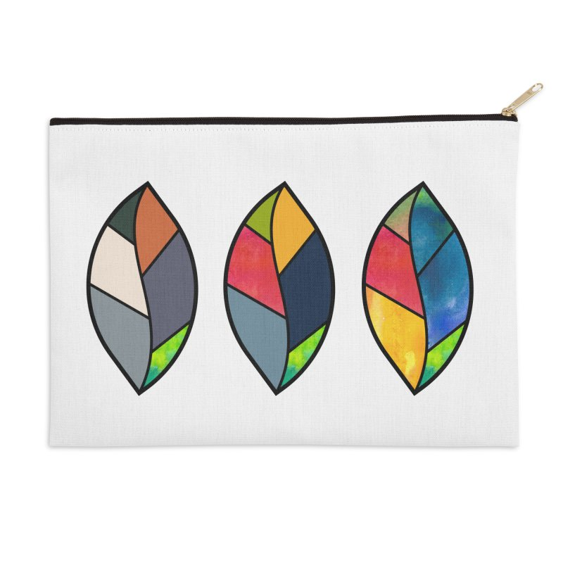 3 Faces of the Fall Accessories Zip Pouch by rouages's Artist Shop