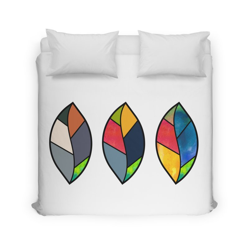 3 Faces of the Fall Home Duvet by rouages's Artist Shop