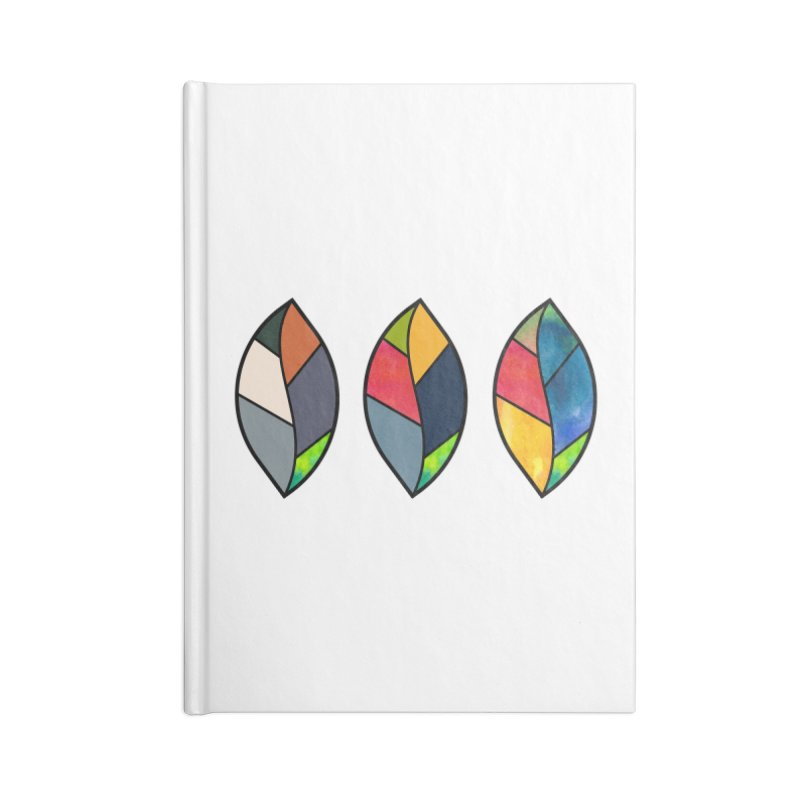 3 Faces of the Fall Accessories Lined Journal Notebook by rouages's Artist Shop