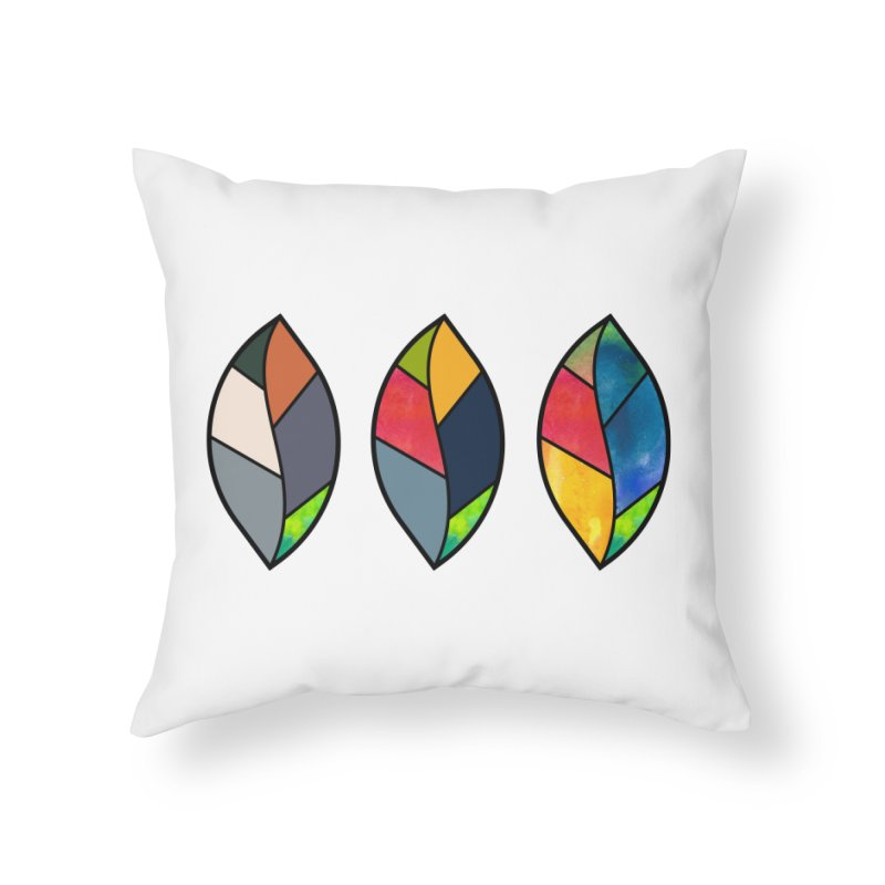 3 Faces of the Fall Home Throw Pillow by rouages's Artist Shop