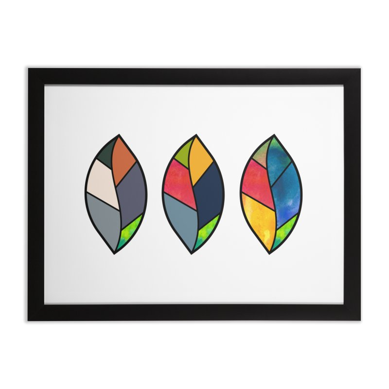 3 Faces of the Fall Home Framed Fine Art Print by rouages's Artist Shop