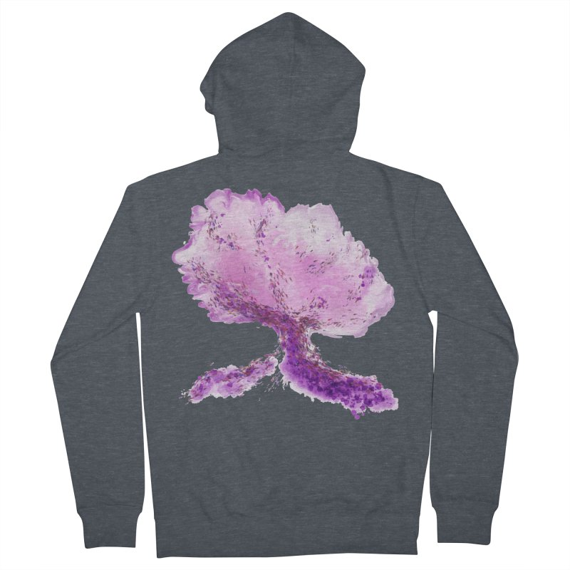 In another world, a tree... Women's French Terry Zip-Up Hoody by rouages's Artist Shop