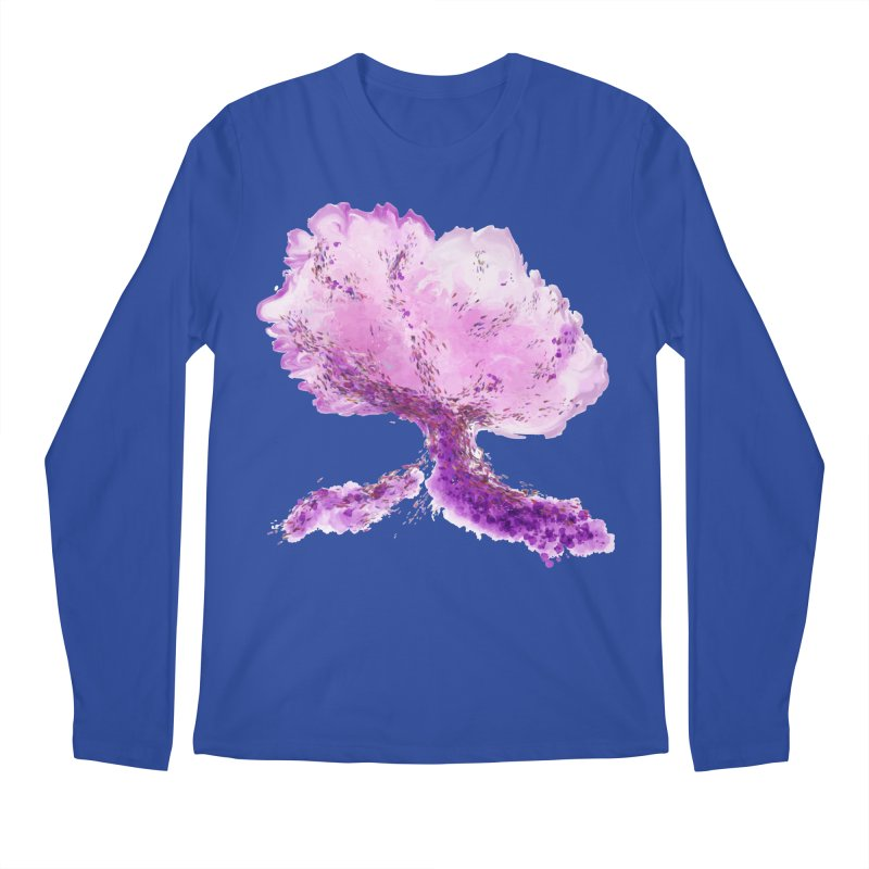 In another world, a tree... Men's Regular Longsleeve T-Shirt by rouages's Artist Shop