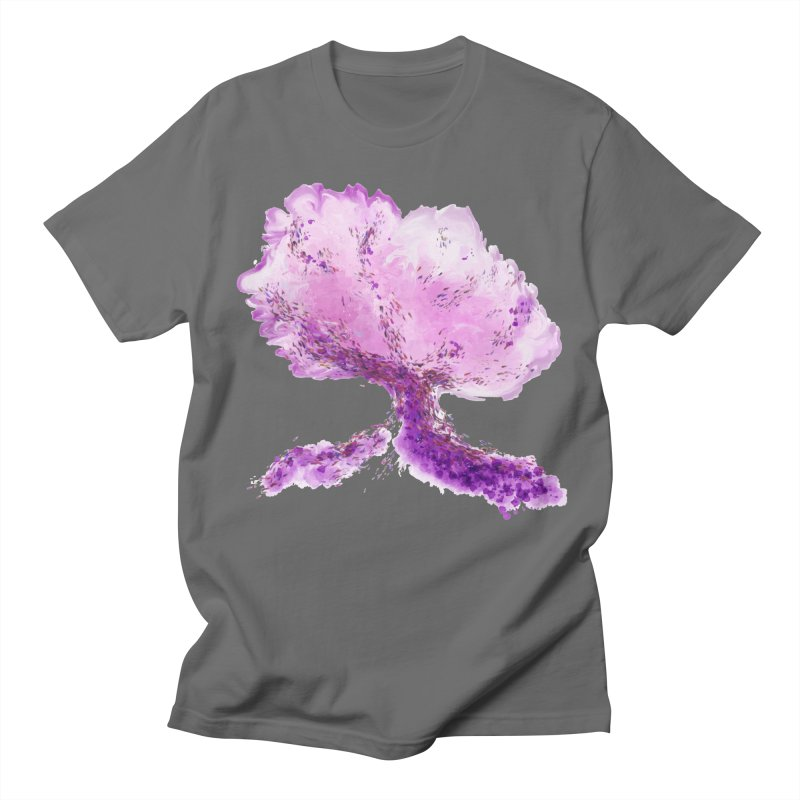 In another world, a tree... Men's T-Shirt by rouages's Artist Shop