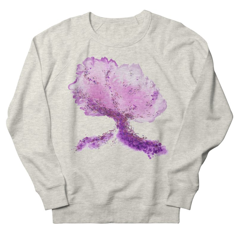 In another world, a tree... Men's French Terry Sweatshirt by rouages's Artist Shop