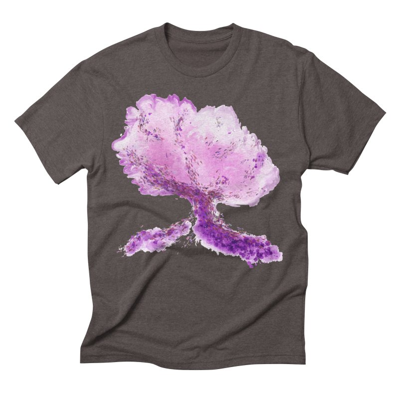 In another world, a tree... Men's Triblend T-Shirt by rouages's Artist Shop