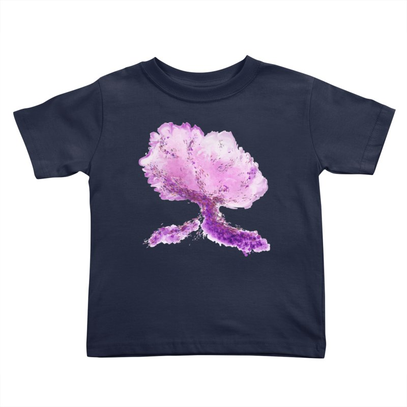 In another world, a tree... Kids Toddler T-Shirt by rouages's Artist Shop