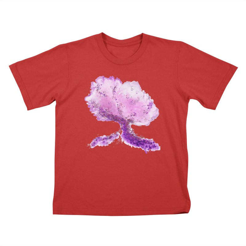 In another world, a tree... Kids T-Shirt by rouages's Artist Shop