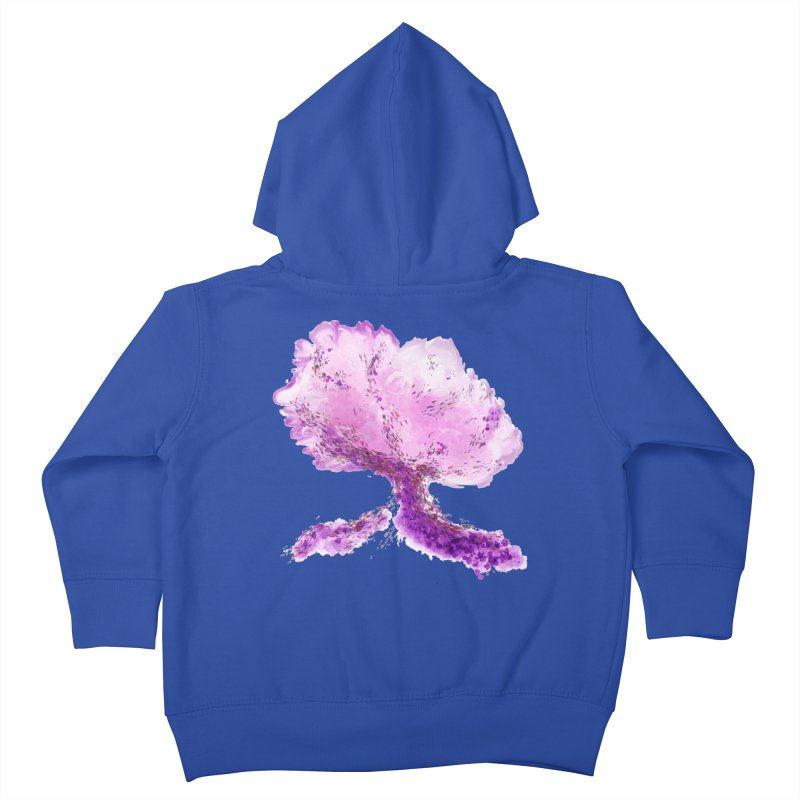 In another world, a tree... Kids Toddler Zip-Up Hoody by rouages's Artist Shop