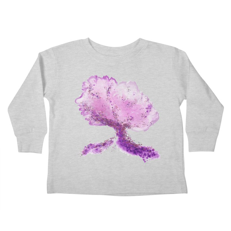 In another world, a tree... Kids Toddler Longsleeve T-Shirt by rouages's Artist Shop