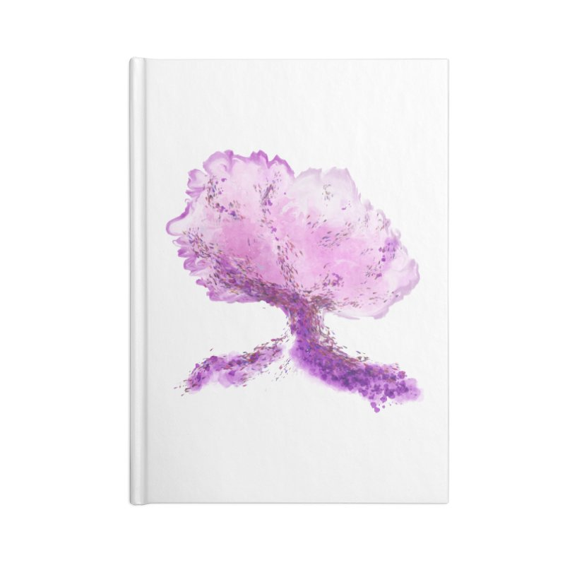 In another world, a tree... Accessories Notebook by rouages's Artist Shop