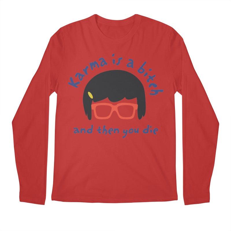 "According to ""Mature"" Tina... Men's Regular Longsleeve T-Shirt by rouages's Artist Shop"