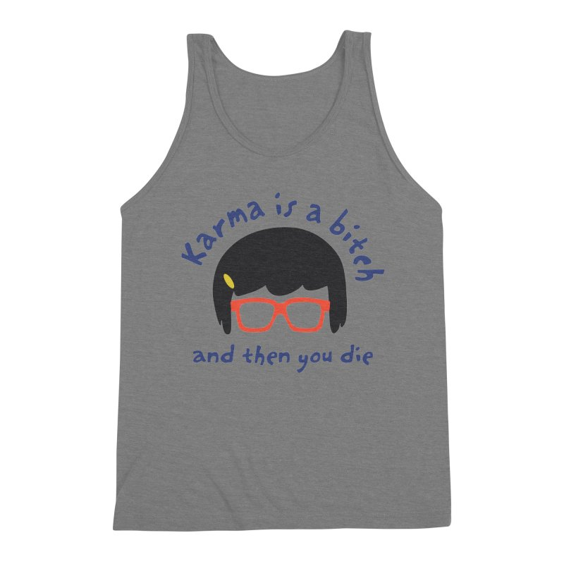 """According to """"Mature"""" Tina... Men's Triblend Tank by rouages's Artist Shop"""