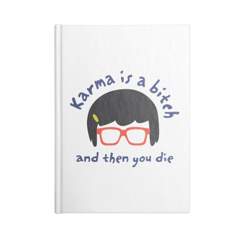 "According to ""Mature"" Tina... Accessories Notebook by rouages's Artist Shop"
