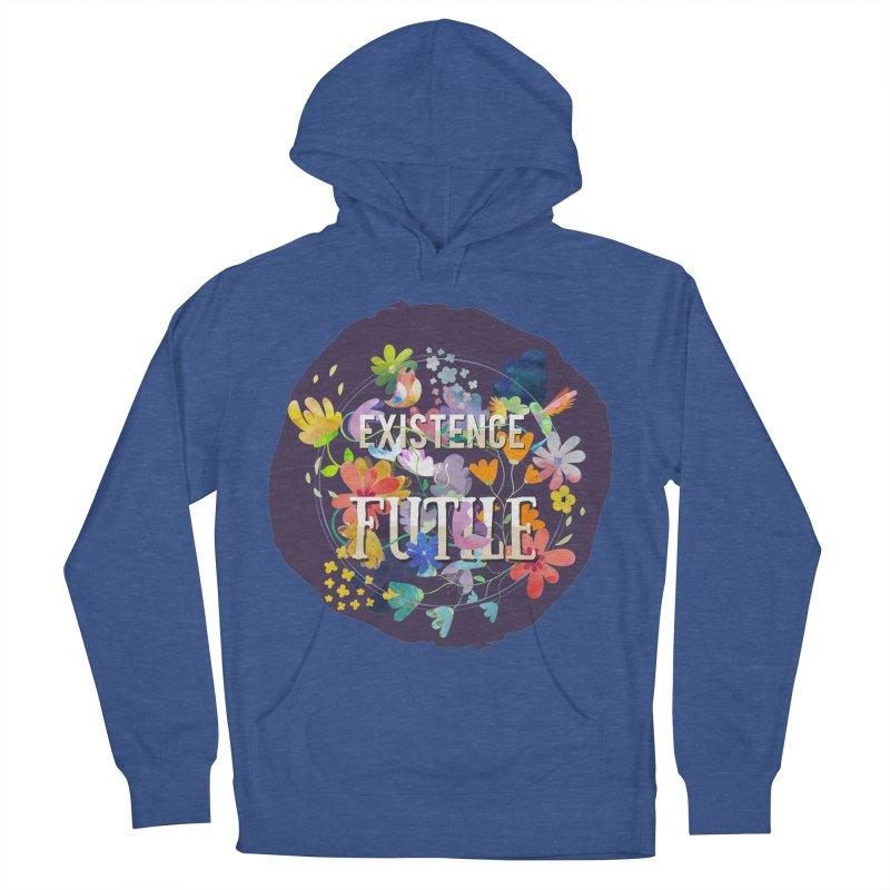 Existence Men's French Terry Pullover Hoody by rouages's Artist Shop