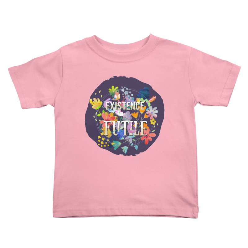 Existence Kids Toddler T-Shirt by rouages's Artist Shop