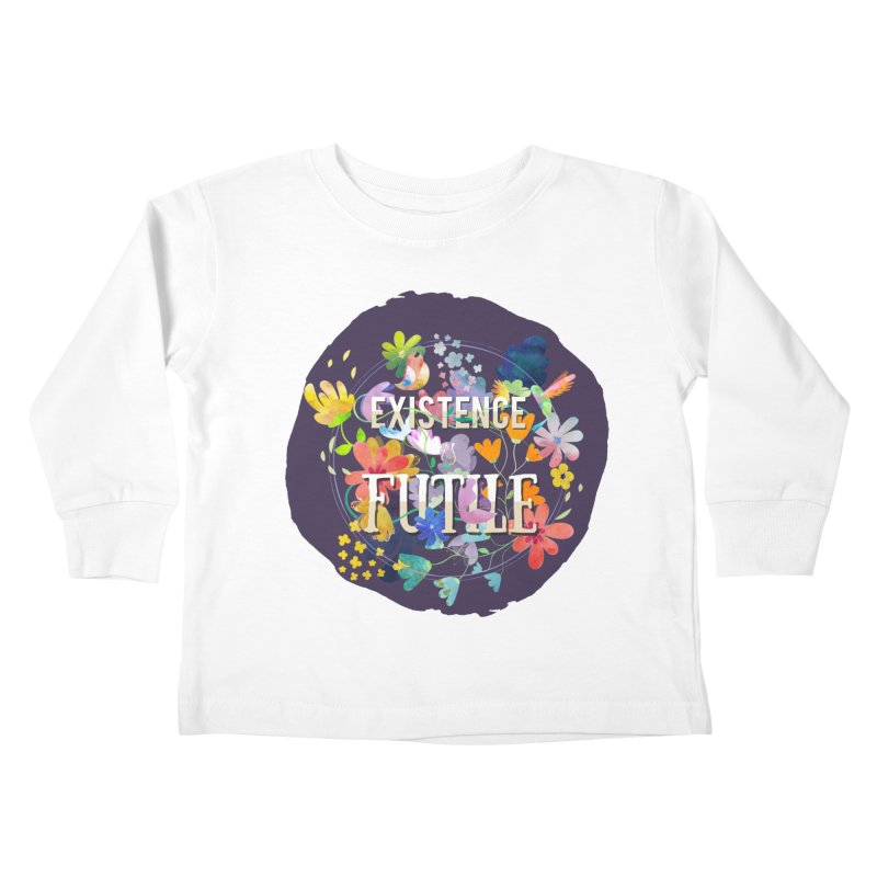 Existence Kids Toddler Longsleeve T-Shirt by rouages's Artist Shop