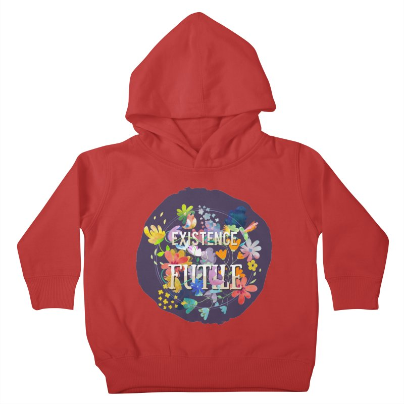 Existence Kids Toddler Pullover Hoody by rouages's Artist Shop