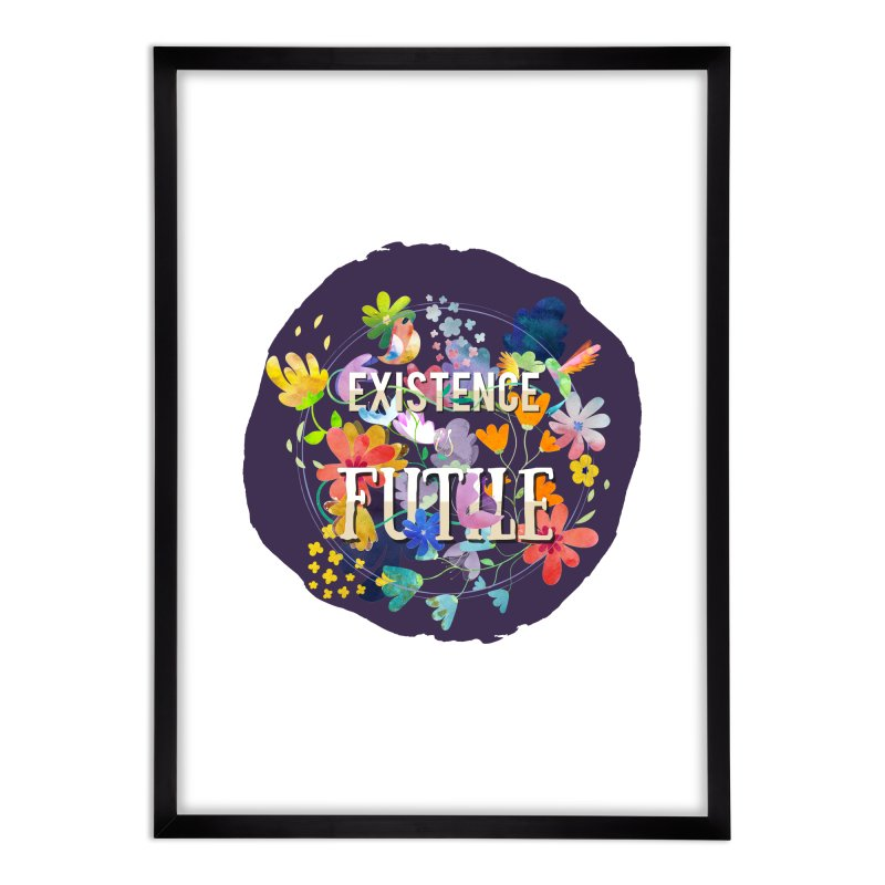 Existence Home Framed Fine Art Print by rouages's Artist Shop