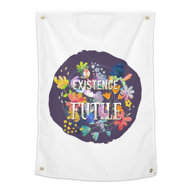 Existence Home Tapestry by rouages's Artist Shop