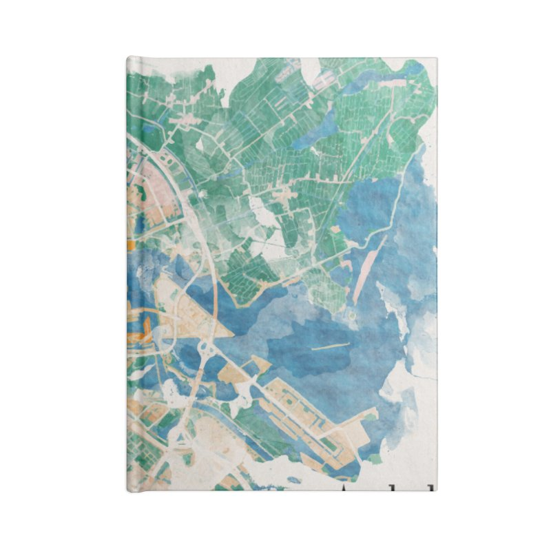 Amsterdam, the watercolor beauty Accessories Blank Journal Notebook by rouages's Artist Shop