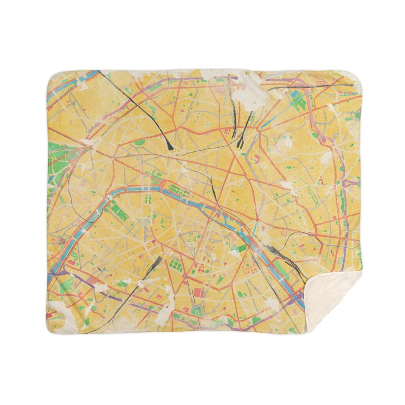Another Paris Home Sherpa Blanket Blanket by rouages's Artist Shop