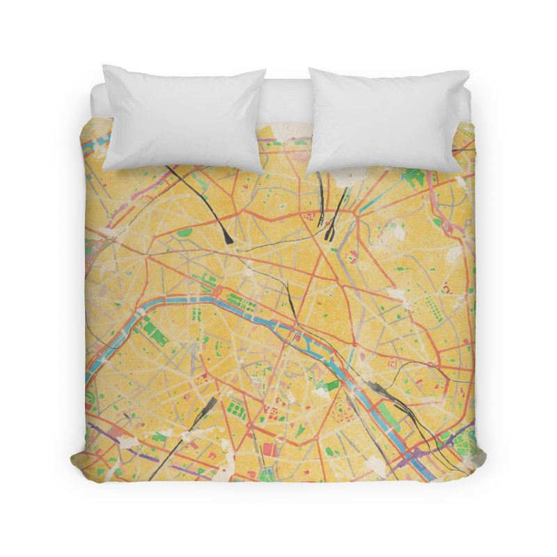 Another Paris Home Duvet by rouages's Artist Shop