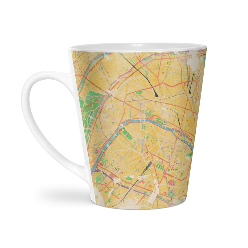 Another Paris Accessories Latte Mug by rouages's Artist Shop