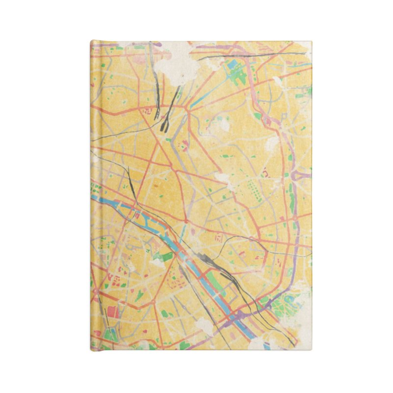 Another Paris Accessories Lined Journal Notebook by rouages's Artist Shop